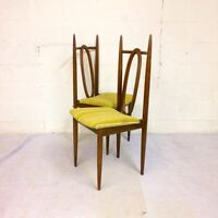 Mid century dining chairs (6)