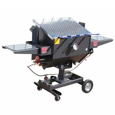 NEW R&V WORKS FF4 Carbon Steel Material 12 Gallon 4 Basket U