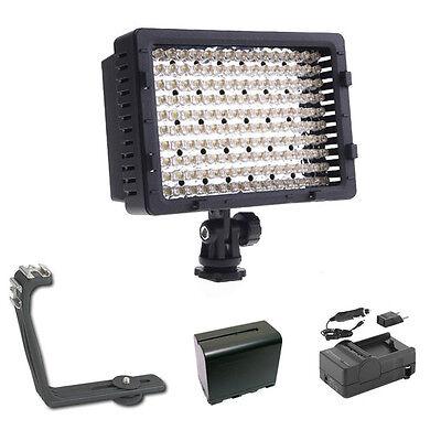 Pro Xb-12 Hd Led Video Light F970 For Canon 1d X 5d Mark ...