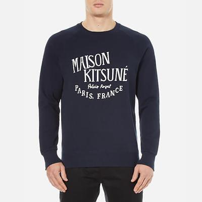 Maison Kitsuné Men's Palais Royal Sweatshirt - Navy XL