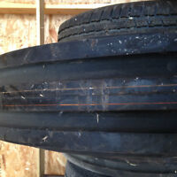 Tires- tractor, pick-up & trailer  & Rims