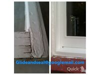 Sash and case draughtproofing repair and renovation