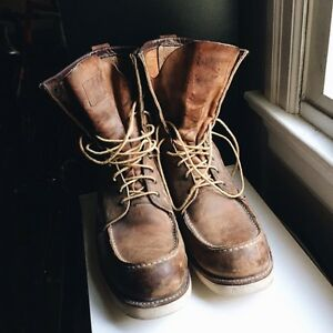 """Red Wing Heritage Moc 8"""" Boots"""