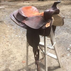 Selle western pour cheval