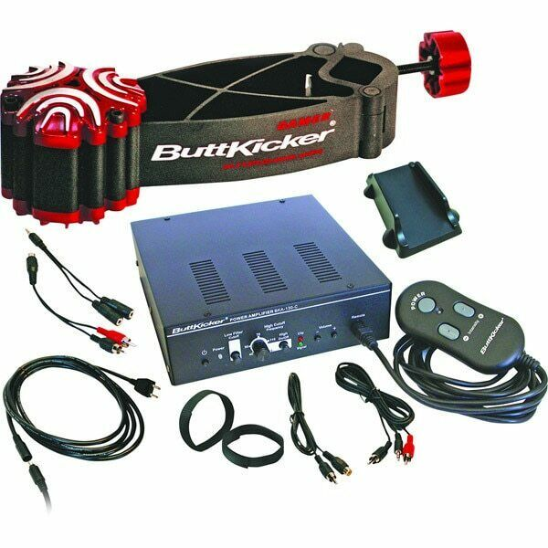 ButtKicker BK-GR2 Gamer Transducer Amplifier Kit (NEW)