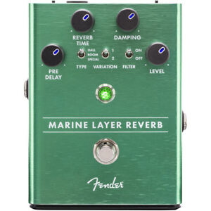 Fender Marine Layer Reverb Guitar Pedal