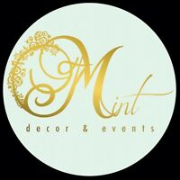 ••••••••MINT DECOR AND EVENTS ••••••••••