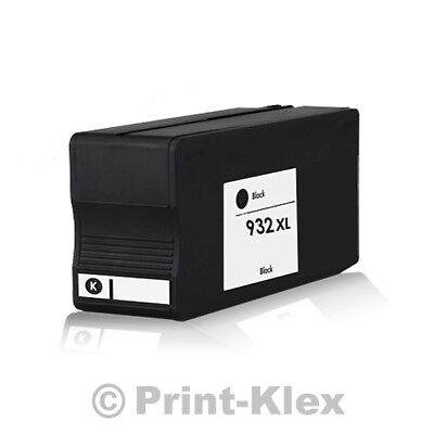 XXL Tintenpatrone für HP OfficeJet 6100e Printer 6600e All in One CN053AE Black (Hp All In One Drucker 6100)