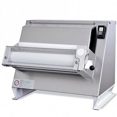 One Pass Pizza Dough Roller Sheeter Single Roller Diameter 12 Rolling Machine