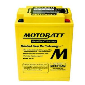 MotoBatt Battery Replaces Honda 31500-MB1-671, 31500-415-671, 31500-MW3-720