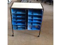 Portable storage trolley