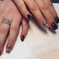 les beaux ongles burberry