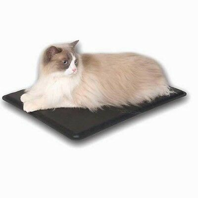 K&H Extreme Weather Outdoor/Indoor Heated Kitty Cat Bed Pad Mat 12.5 X 18.5 - Heated Kitty Cat Bed