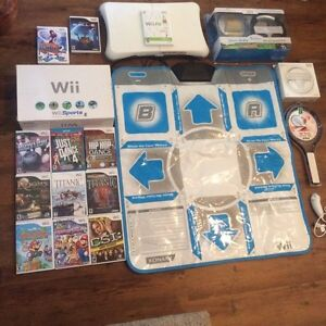 Brand new Wii Sports console with all accessories and cords