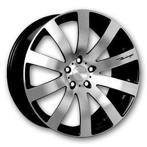 All season 4 tires 255/45R20 mounted on MRR chrome alloy rims mo Edmonton Edmonton Area image 4