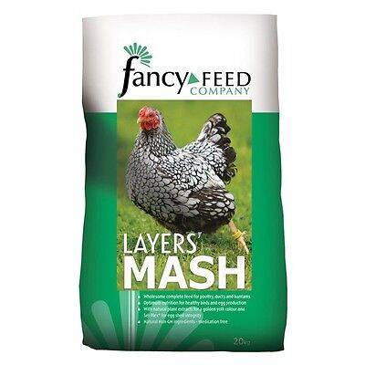 CHICKEN LAYERS MASH 20kg Fancy Feeds. Poultry / Hens / Goose / Duck (BAI103)