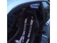 Sparco harness. 3 piece. Seat belt