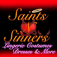 New Lingerie in Stock, visit Saints N Sinners Lingerie Dress