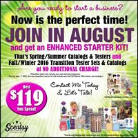 Interested in joining Scentsy? Now is a perfect time!