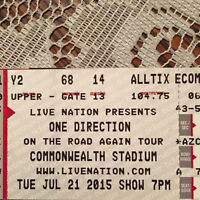 Two Tickets To One Direction In Edmonton!