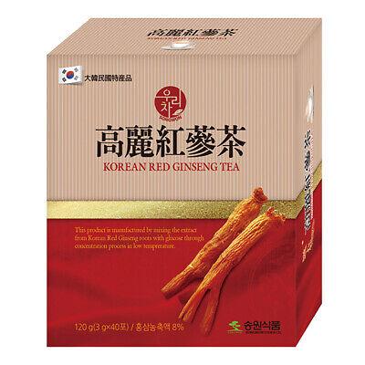 SONGWON Korean RED GINSENG Tea Granule Root Bag 3g x 40ea Anti Stress Fatigue
