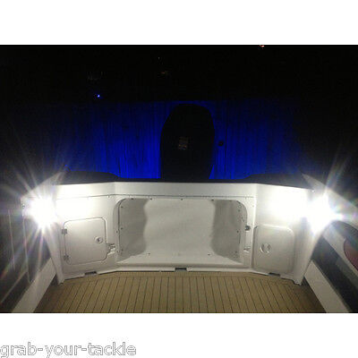 12V 12-P4-LED Cabin Dome Light-Boat/Marine/Caravan/Ceiling Lamp 12 LED NEW