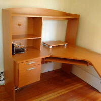 """U shaped computer/work desk 58""""x74"""", with/without task chair"""