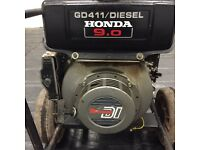 Honda 6kva diesel generator key start