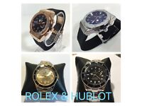 ROLEX HUBLOT AP AUDEMARS PIGUET WATCHES - BEST PRICE