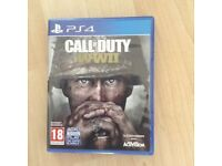 ps4 call of duty ww2 game
