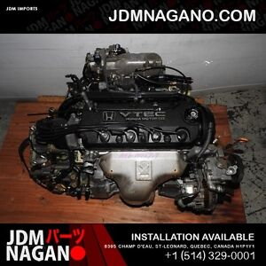 JDM 98 02 Honda Accord F23a SOHC VTEC 2.3L Engine and Automatic