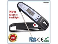 Food Meat Cooking Thermometer Digital Instant Read Candy Thermometer Probe