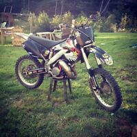 01 Cr125r trade for sled
