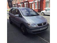 Vauxhall Zafira automatic £550
