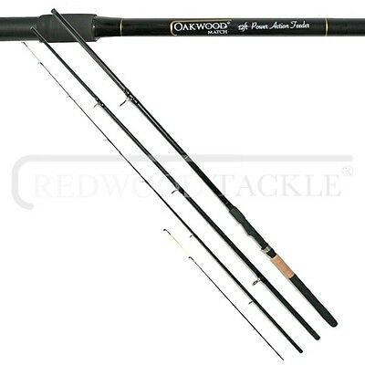Brand New Oakwood Power Match/Carp Fishing Feeder/Quiver Rod 12ft