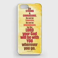 iPhone 5/5S Black Snap On Cover Case Christian Bible Verse