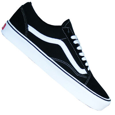 Vans Old Skool black white Sneaker Skate Schuhe schwarz weiß NEU