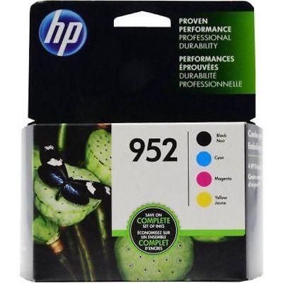HP 952 Ink Cartridge set of 4 Genuine New In SEALED BOX
