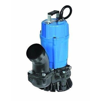 Nib Tsurumi Hs3.75s 2 Electric Submersible Trash Pump 3120gph 12hp