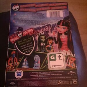 MONSTER HIGH Movies - 3 movies for $6.00 Gatineau Ottawa / Gatineau Area image 6