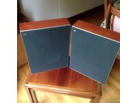 BANG AND OLUFSEN BEOVOX 1802 SPEAKERS