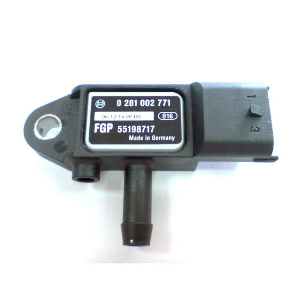 VAUXHALL CORSA D MERIVA 1.7 DIESEL EXHAUST PRESSURE DIFFERENCE SENSOR