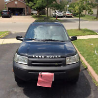 2002 Land Rover Freelander S SUV, Crossover