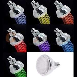 New light up shower nozzle