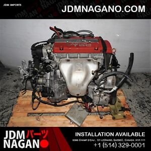 JDM H22A 97 98 99 00 01 HONDA ACCORD PRELUDE EURO R ENGINE T2W4