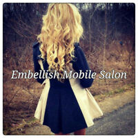 Embellish Mobile Salon - Mobile Hairstyling Services Available