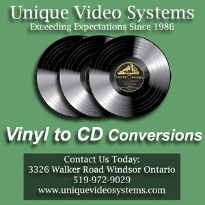 Vinyl Records Converted To CD