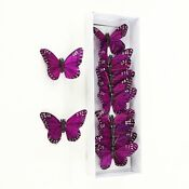 Purple Butterfly Wedding Decorations