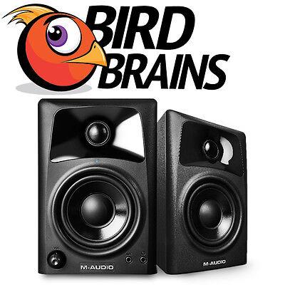 M-Audio AV32 Compact Desktop Studio Monitor Speakers (NEW)