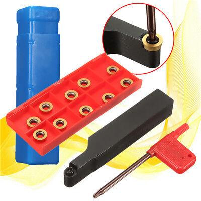 Srapr1616h10 Face Milling Lathe Tool Holder 10pcs Rpmt10t3mo Carbide Inserts